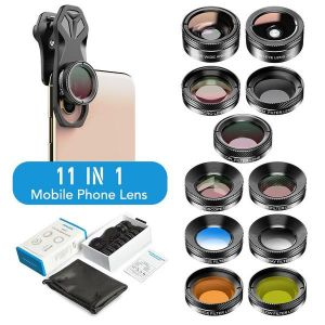 Cell Phone Camera Optical 11 in 1 Filter Lens Kits
