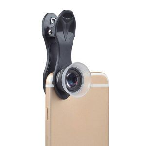 2 in 1 12x/24x Camera Macro Lens with Universal Clip for Mobile Phone